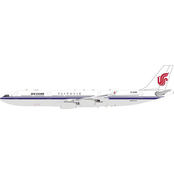 InFlight A340-300 Air China B-2390 1:200 with stand