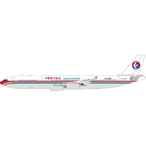 A340-300 China Eastern Airlines B-2384 1:200 with Stand