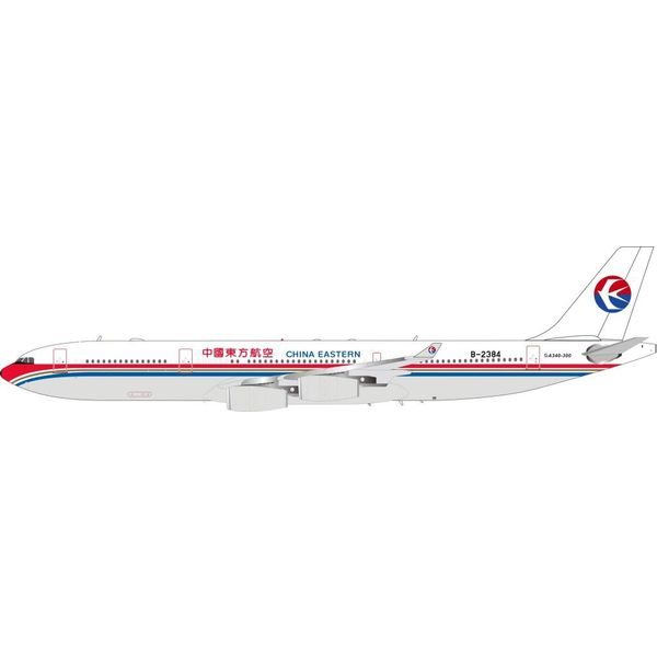 InFlight A340-300 China Eastern Airlines B-2384 1:200 with Stand