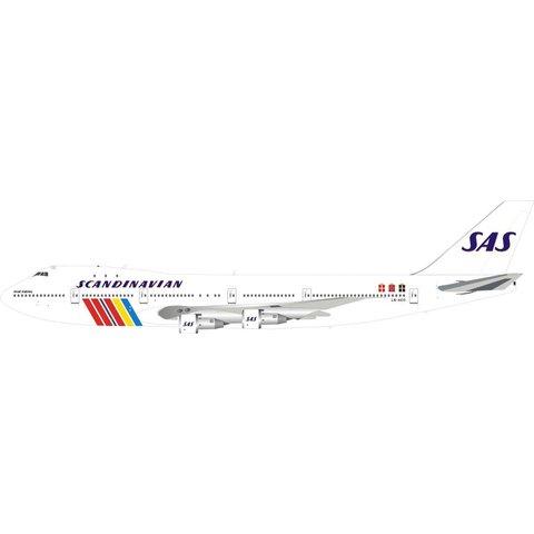 B747-200 SAS Scandinavian LN-AEO Ivar Viking 1:200 With Stand