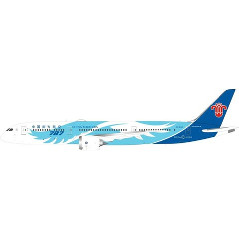 B787-9 Dreamliner China Southern Airlines wings livery B-1242 1:200 with stand