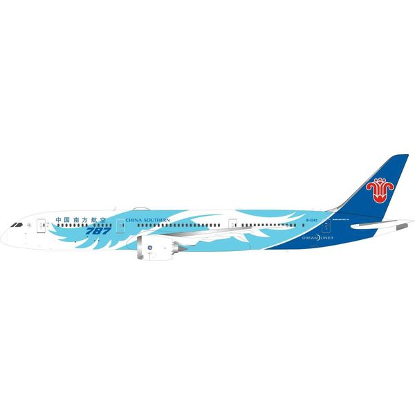 InFlight B787-9 Dreamliner China Southern Airlines wings livery B-1242 1:200 with stand