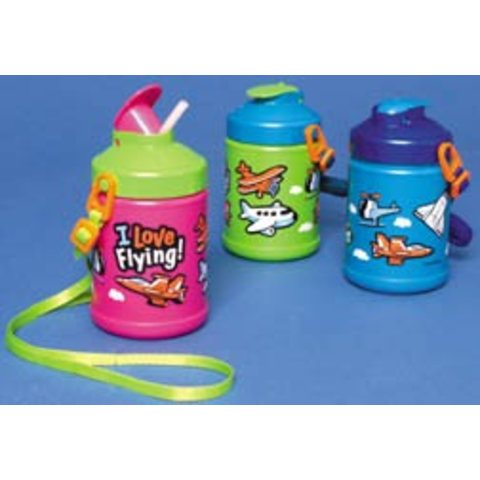 I love Flying Water Bottle Toddler (Assorted colours)