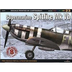 Kagero Top Colors Supermarine Spitfire MKVb: KTC#23 Kagero softcover