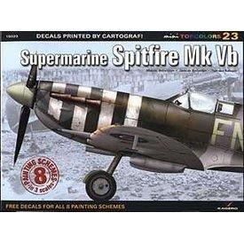 Supermarine Spitfire MKVb: KTC#23 Kagero softcover