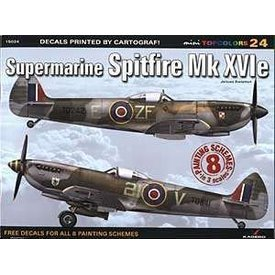 Kagero Top Colors Supermarine Spitfire MKXVIe: KTC#24 Kagero softcover