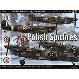 Kagero Top Colors Polish Spitfires: KTC#27 Kagero softcover