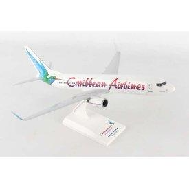 SkyMarks B737-800W Caribbean Hummingbird 1:130 with stand