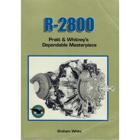 Crowood Aviation Books R2800: Pratt & Whitney's Dependable Masterpiece softcover (Used copy)**o/p**