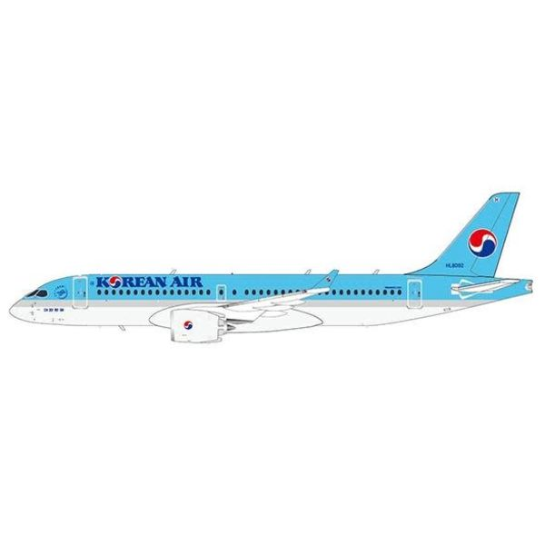 JC Wings CS300 Korean Air HL8092 1:200 with stand*New Mould*