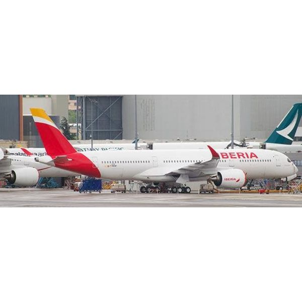 JC Wings A350-900 Iberia new 2013 livery EC-MXV 1:200 with stand