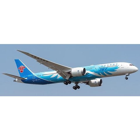 B787-9 Dreamliner China Southern B-1242 1:200 with stand