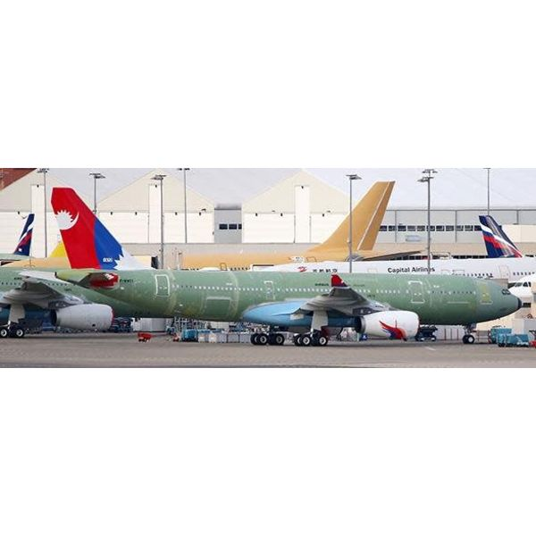 JC Wings A330-200 Nepal Airlines 9N-ALY 1:200 with stand