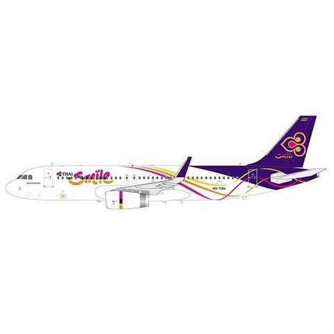 A320S Thai Smile HS-TXU 1:200 with stand (sharklets)