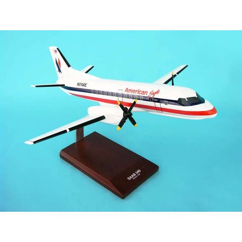 SF340 American Eagle Old Livery 1:48 with stand (no gear)*NSI*