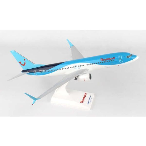 SkyMarks B737-800S Thomson 1:130 with stand (no gear)