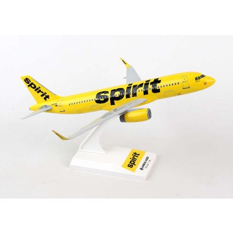 A320 Spirit new livery 2014 yellow / black N642NK 1:150 with stand