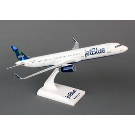 SkyMarks A321 Jetblue Prism Livery 1:150 with stand