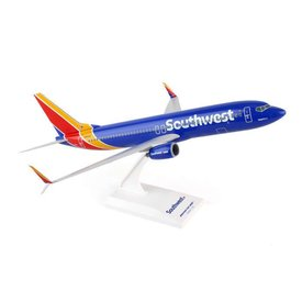 SkyMarks B737-800W Southwest New Livery 2014 Heart One 1:130 with stand