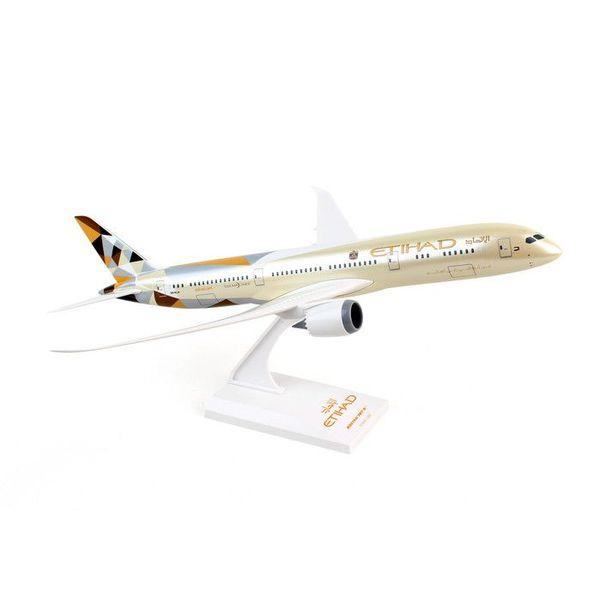 SkyMarks B787-9 Dreamliner Etihad 2014 c/s 1:200 with stand