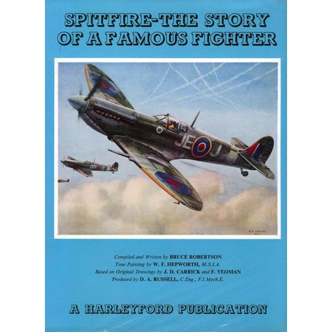 Spitfire: Story of a Famous Fighter Hardcover**o/p**Used Copy**