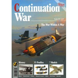 VALIANT WINGS Continuation War: War Within a War: Airframe Extra #6:  AE#6 softcover