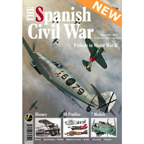 VALIANT WINGS Spanish Civil War: Prelude to World War II: Airframe Extra #5: AE#5 softcover