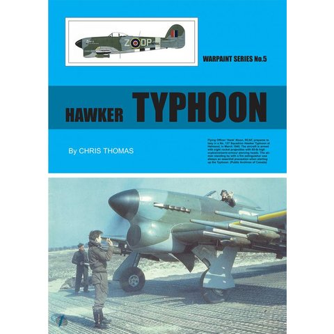 Hawker Typhoon: Warpaint #5 Softcover