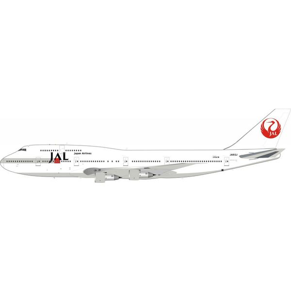 InFlight B747-300 Japan Airlines JAL 2011 Livery JA812J 1:200 With Stand**o/p**