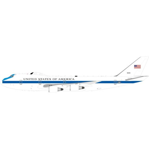 E4B (B747-200B) US Air Force USAF NAECP 75-0125 1:200 with stand