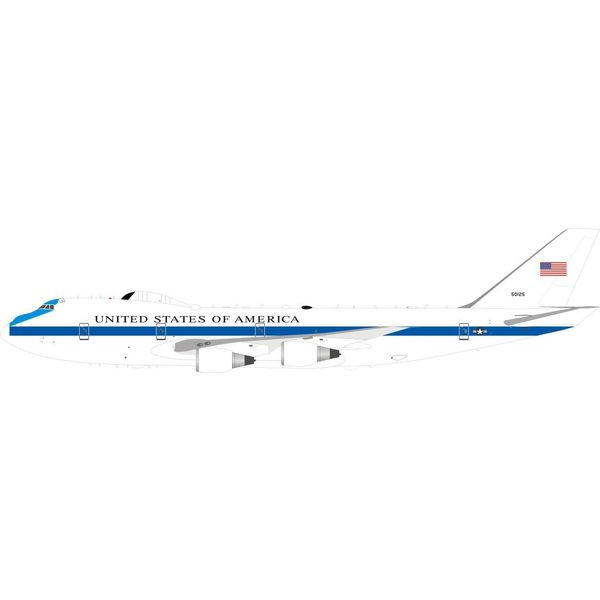 InFlight E4B (B747-200B) US Air Force USAF NAECP 75-0125 1:200 with stand