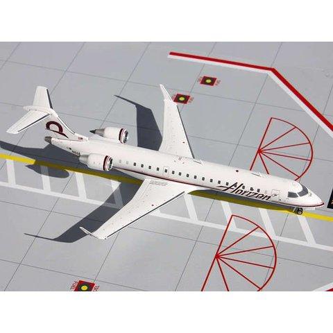 CRJ700 Horizon Air (Alaska) N606QX 1:200 with stand