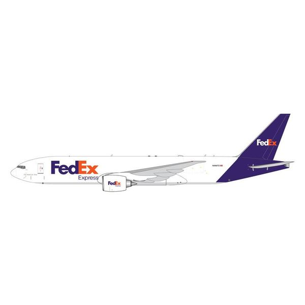 Gemini Jets B777-200LRF FedEx Express N886FD 1:400 (6th release)