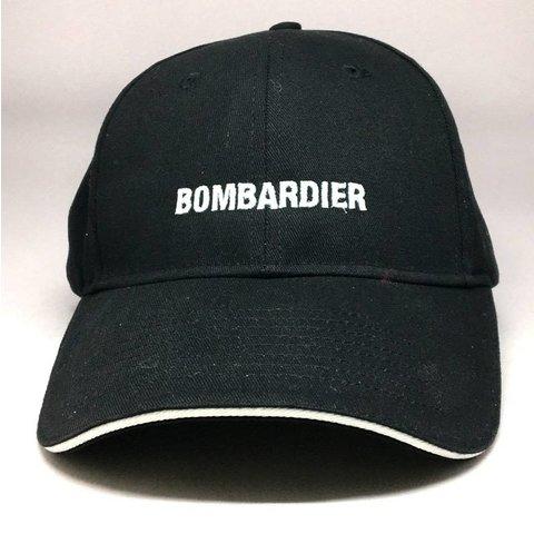 CAP BOMBARDIER Black