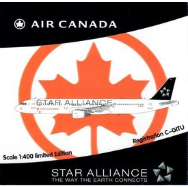 HYJL Wings A321 Air Canada Star Alliance