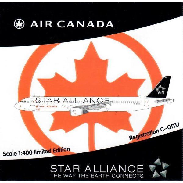 HYJL Wings A321 Air Canada Star Alliance