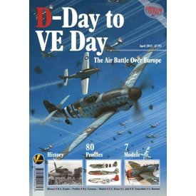 VALIANT WINGS D-Day to VE Day: Air Battle Over Europe: Airframe Extra #1: AE#1 softcover