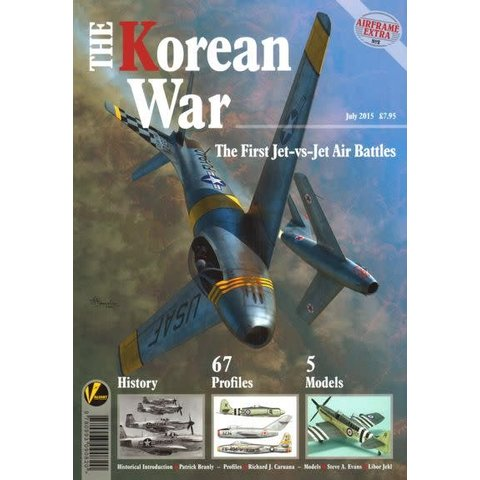 Korean War: First Jet to Jet Air Battles: Airframe Extra #2: AE#2 softcover