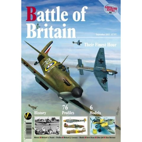 Battle of Britain: Their Finest Hour: Airframe Extra #3: AE#3 softcover