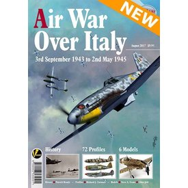 Valiant Wings Modelling Air War Over Italy: Airframe Extra #8: softcover