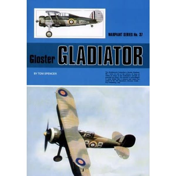 Warpaint Gloster Gladiator: Warpaint #37 Softcover