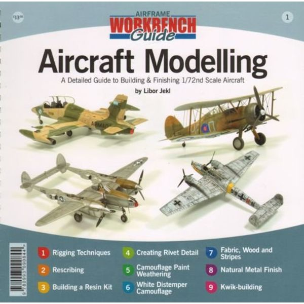 VALIANT WINGS Aircraft Modelling: Detailed Guide to Building & Finishing 1:72 Scale Aircraft: Airframe Workbench Guide #1 Softcover Cerlox