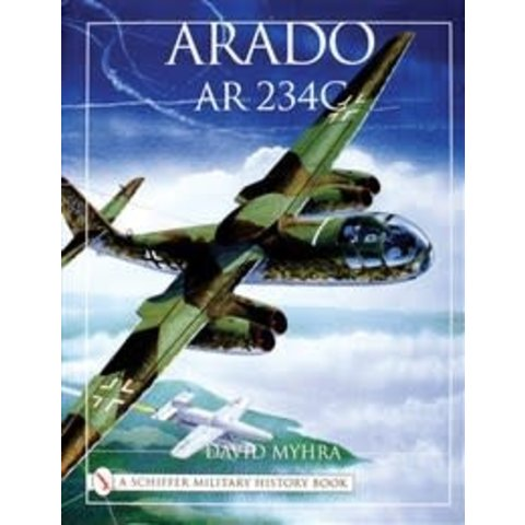 Arado AR234C: An Illustrated History hardcover +NSI+