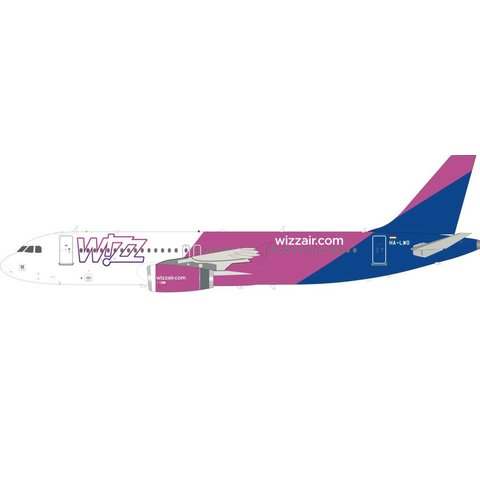 A320 Wizz Air HA-LWO 1:200 with stand