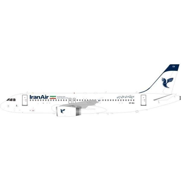 JFOX A320 Iran Air EP-IEA 1:200 With Stand (2nd release)
