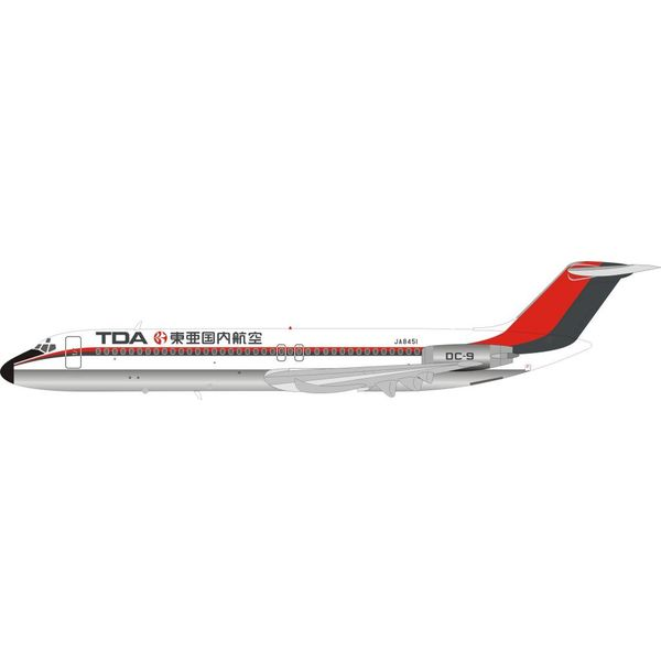 InFlight DC9-41 TDA JA8451 1:200 with stand