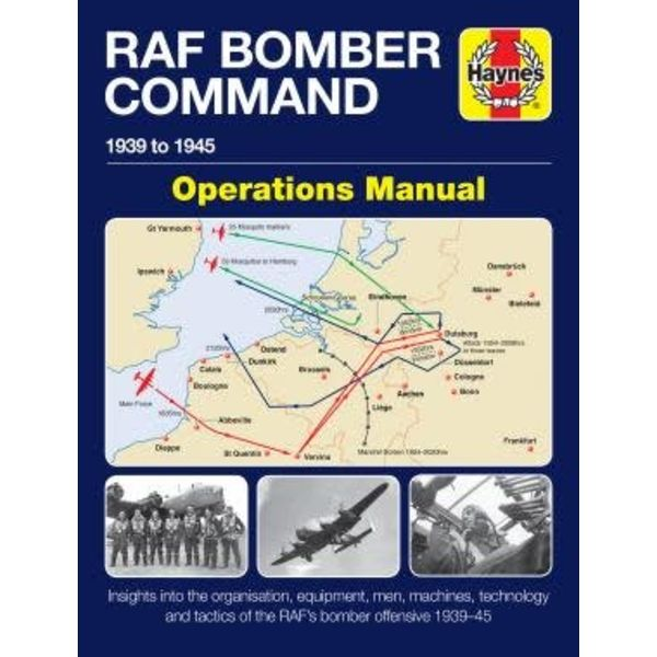 Haynes Publishing RAF Bomber Command: Operations Manual hardcover