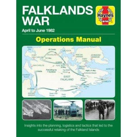 Falklands War: Operations Manual: April to June 1982 hardcover