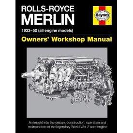 Haynes Publishing Rolls-Royce Merlin: Owner's Workshop Manual HC (OSI)