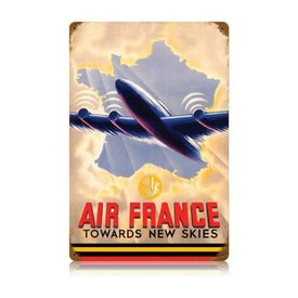 Air France Tin Sign